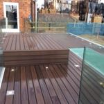 London Composite Decking Roof Terrace Complete