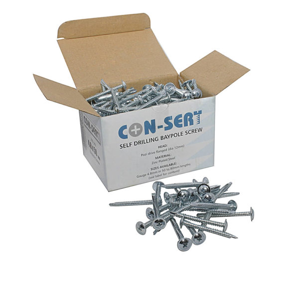 Con-sert Baypole Screws - Box