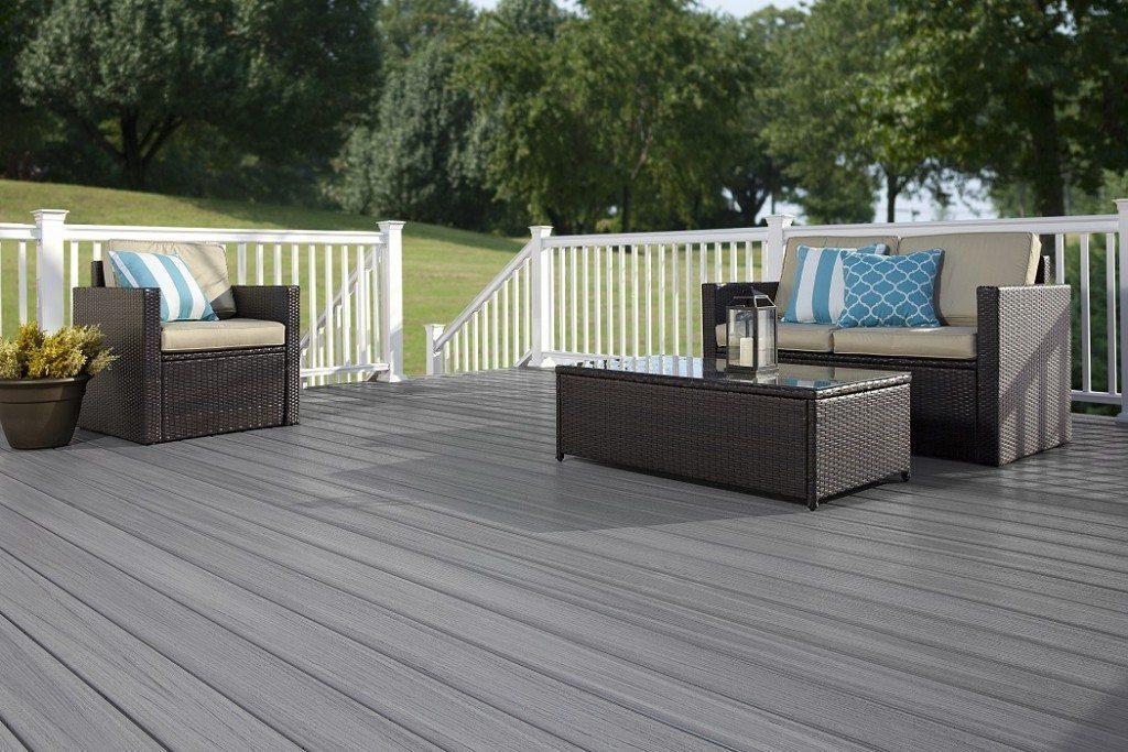 Xtreme Advantage Composite Decking (Aspen) patio