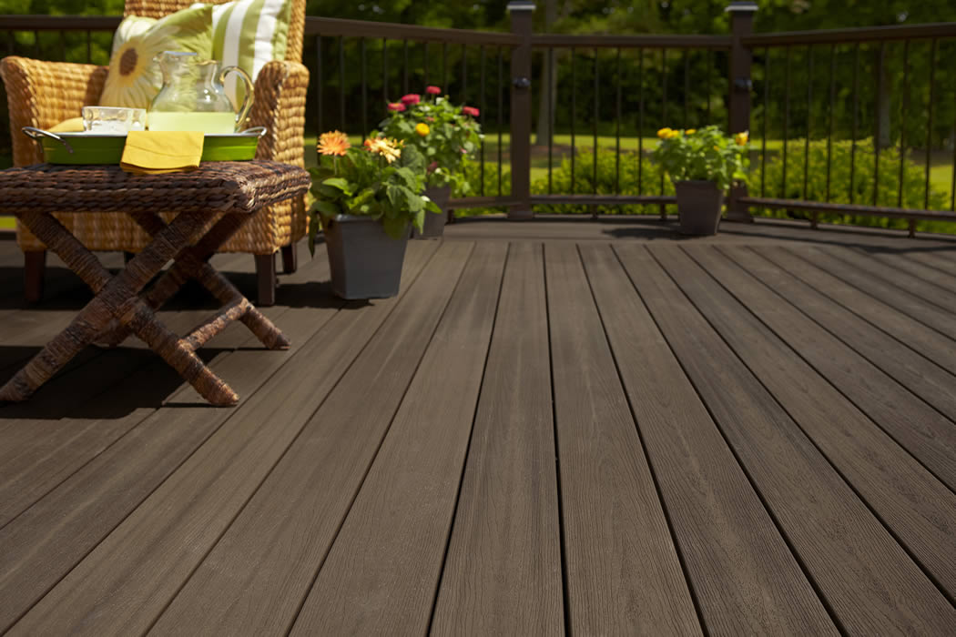 Composite Decking Stain Free