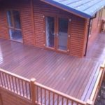 Composite decking London Enfield