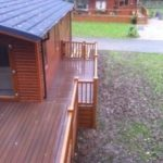 Composite decking balcony London Enfield