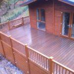 Composite decking park home London Enfield