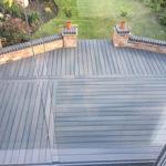 Grey composite decking Leicester