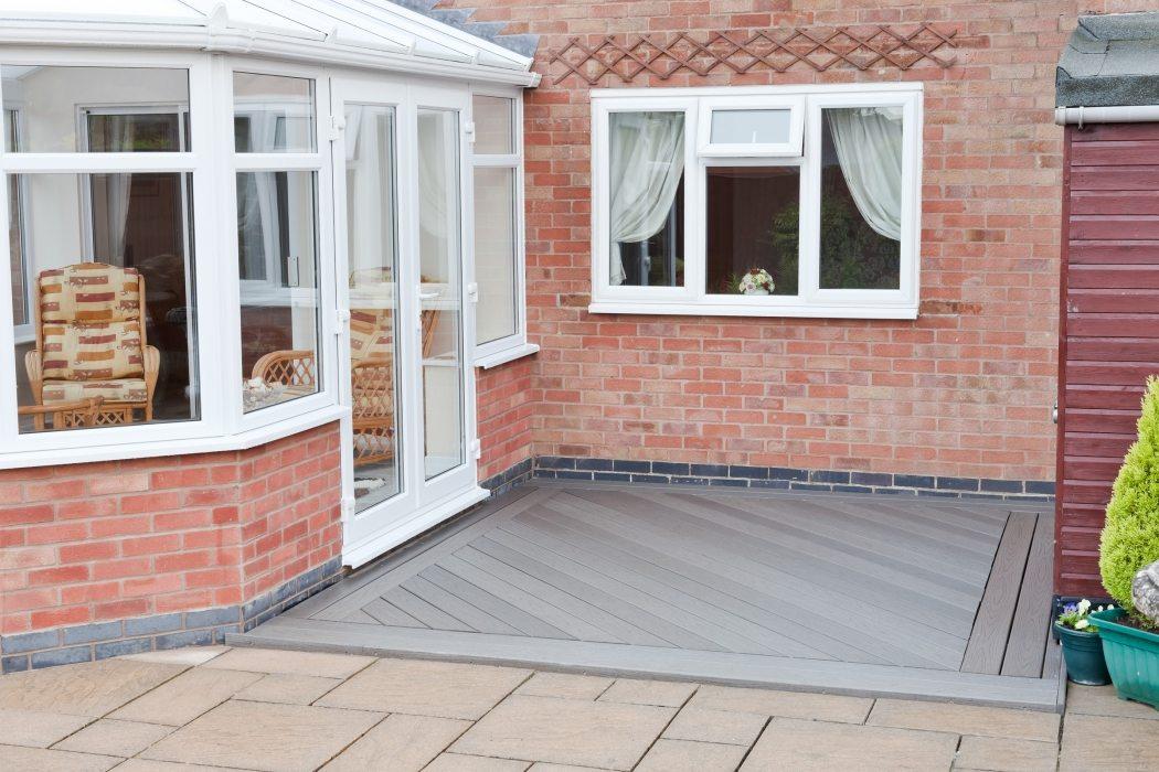 composite decking patio leicester