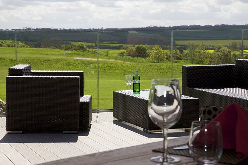 Composite Decking, Kilworth Springs Golf Course – Leicestershire