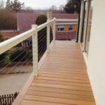 Nottingham Composite Decking Balcony South Side Ipe