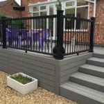 Leicester (Oadby) Composite Decking Patio (overview after)