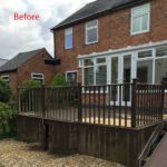 Leicester (Oadby) Composite Decking Project (overview)