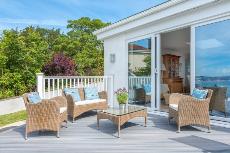 Torquay Composite Decking Cornwall Beach House